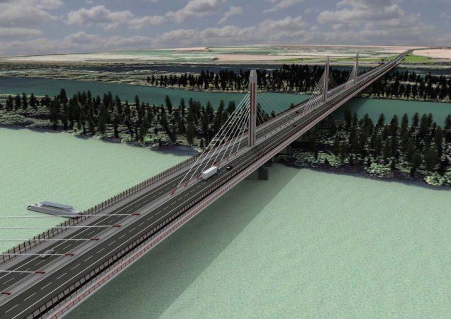 Diaľnica D4 Bratislava, Most cez Dunaj