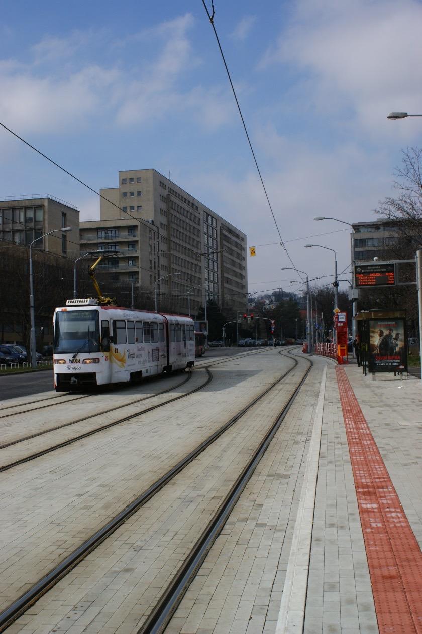 Električková trať Radlinského - Hlavná stanica - 1. etapa Modernizácia trate Radlinského - Kýčerského
