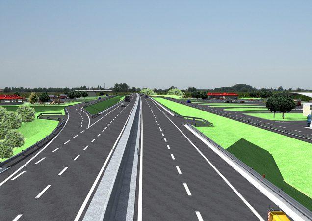 Rýchlostná cesta R7 Dunajská Lužná - Holice - odpočívadlo Blatná na Ostrove