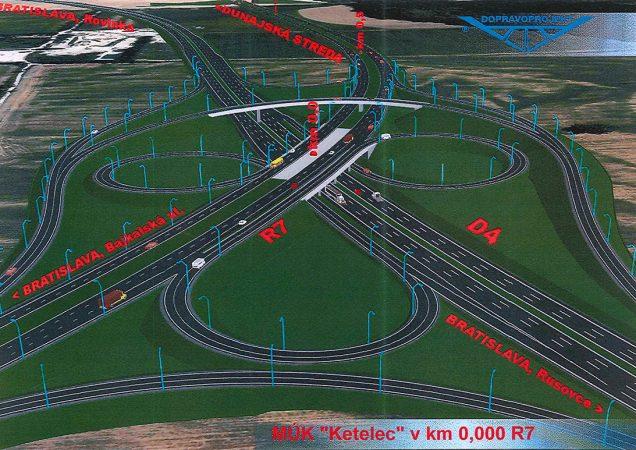 Rýchlostná cesta R7 Bratislava – Dunajská Lužná - Ketelec