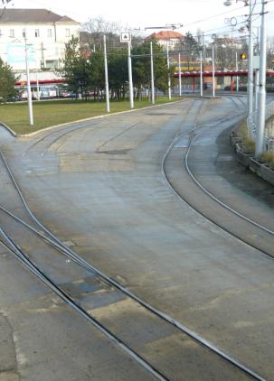 Električková trať Radlinského - Hlavná stanica - 2. etapa Oprava trate Kýčerského – hlavná stanica