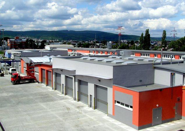 Základňa technickej infraštruktúry DPB, a. s. Jurajov Dvor - l. etapa
