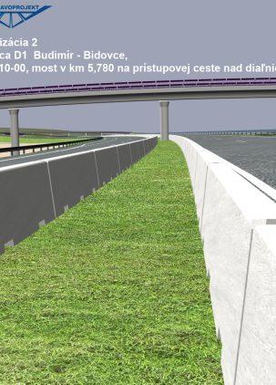 Diaľnica D1 Budimír - Bidovce - 210 00
