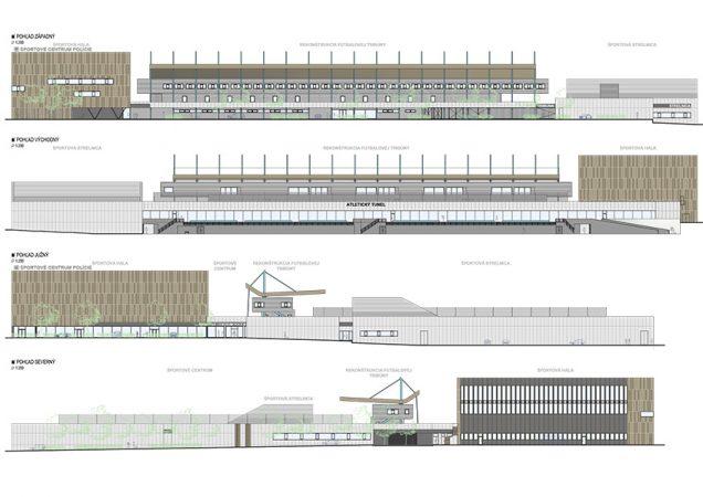 Revitalizácia a dostavba areálu Športového centra polície v mestskej časti Bratislava Dúbravka